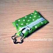 Schlüsseltasche_grün_Stern